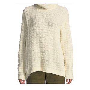 Eileen Fisher Organic Cotton Funnel Neck Sweater